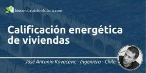 Calificación energética de viviendas