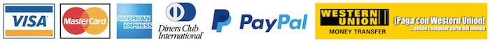 Logos Modos de pago